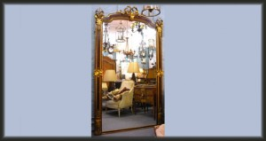 Louis XVI Salon Mirror