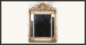Napoleon III Cushion Mirror